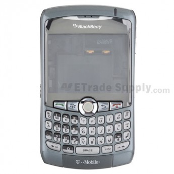 BlackBerry Curve 8300 Complete Housing with OEM Intermixed Components (T-Mobile) ,Gray