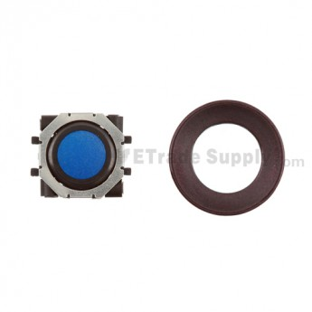 BlackBerry Pearl 8100,8300,8800,8220,9000 Blue Trackball and Black Inner Ring Assembly with Outer Ring ,Dark Purple