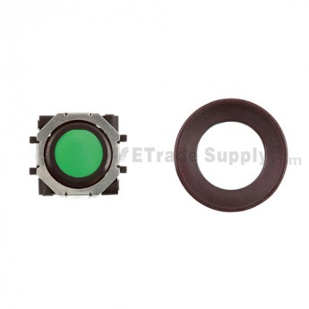 BlackBerry Pearl 8100,8300,8800,8220,9000 Green Trackball and Black Inner Ring Assembly with Outer Ring ,Dark Purple