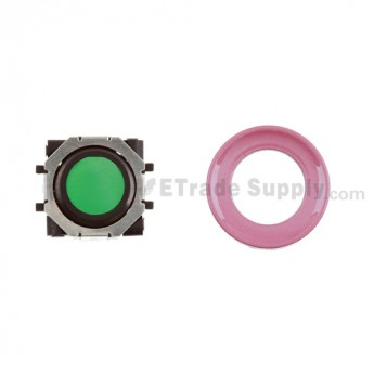 BlackBerry Pearl 8100,8300,8800,8220,9000 Green Trackball and Black Inner Ring Assembly with Outer Ring ,Pink