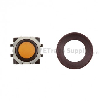 BlackBerry Pearl 8100,8300,8800,8220,9000 Orange Trackball and Black Inner Ring Assembly with Outer Ring ,Dark Purple