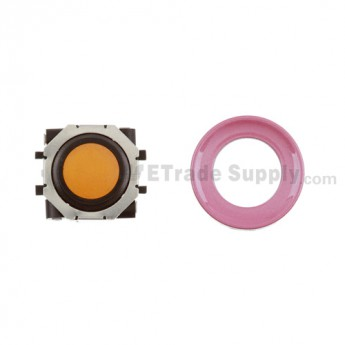 BlackBerry Pearl 8100,8300,8800,8220,9000 Orange Trackball and Black Inner Ring Assembly with Outer Ring ,Pink