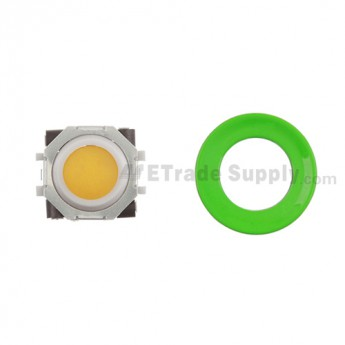 BlackBerry Pearl 8100,8300,8800,8220,9000 Orange Trackball and White Inner Ring Assembly with Outer Ring ,Neon Green