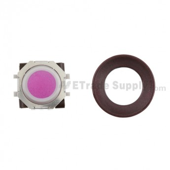 BlackBerry Pearl 8100,8300,8800,8220,9000 Pink Trackball and White Inner Ring Assembly with Outer Ring ,Dark Purple