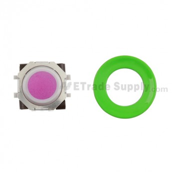 BlackBerry Pearl 8100,8300,8800,8220,9000 Pink Trackball and White Inner Ring Assembly with Outer Ring ,Neon Green