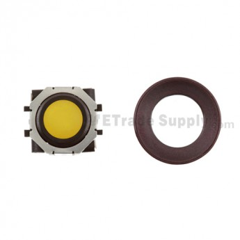 BlackBerry Pearl 8100,8300,8800,8220,9000 Yellow Trackball and Black Inner Ring Assembly with Outer Ring ,Dark Purple