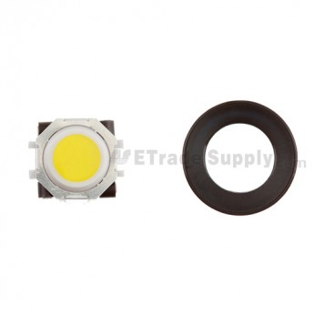 BlackBerry Pearl 8100,8300,8800,8220,9000 Yellow Trackball and White Inner Ring Assembly with Outer Ring ,Black
