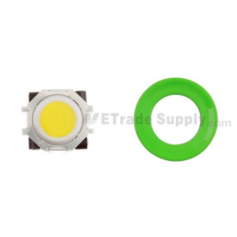 BlackBerry Pearl 8100,8300,8800,8220,9000 Yellow Trackball and White Inner Ring Assembly with Outer Ring ,Neon Green