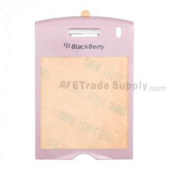 BlackBerry Pearl 8110 Glass Lens with Adhesive ,Pink