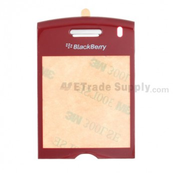 BlackBerry Pearl 8110 Glass Lens with Adhesive ,Red