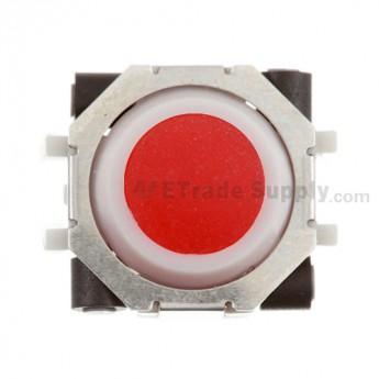 BlackBerry Pearl 81XX, Curve 83XX, 88XX, Pearl Flip 8220, Bold 9000 Trackball and White Inner Ring Assembly ,Red