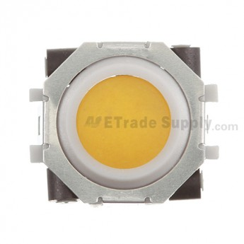BlackBerry Pearl 81XX, Curve 83XX, 88XX, Pearl Flip 8220, Bold 9000 Trackball and White Inner Ring Assembly ,Yellow