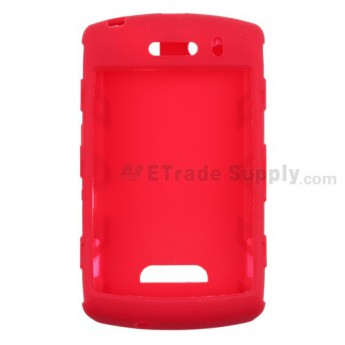 BlackBerry Storm 9530, 9500 Silicone Skin ,Red