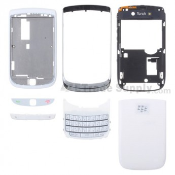 BlackBerry Torch 9800 Housing ,White