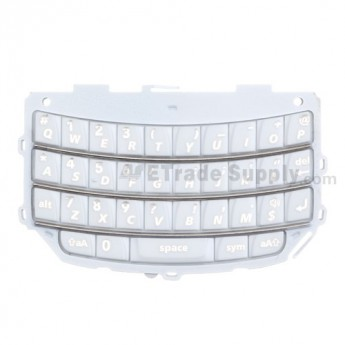 BlackBerry Torch 9800 QWERTY Keypad ,White