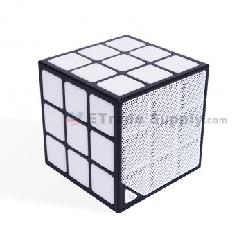 Cube Wireless Bluetooth Speaker - Black (0)
