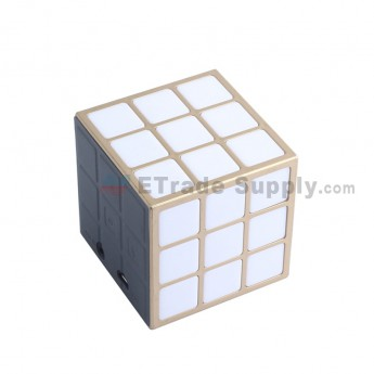 Cube Wireless Bluetooth Speaker - Gold (3)