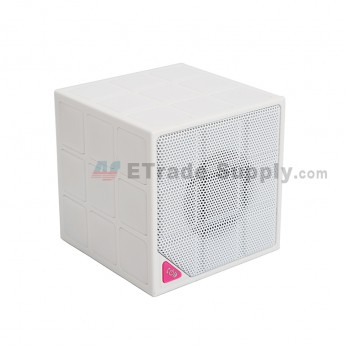 Cube Wireless Bluetooth Speaker - White (3)