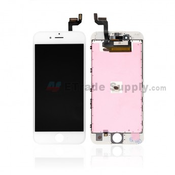 For AP APH 6S LCD Screen and Digitizer Assembly with Frame Replacement - White - Grade A (7)