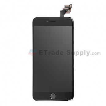 For AP APH 6 Plus LCD Screen and Digitizer Assembly with Frame and Home Button Replacement - Black - Grade R (0)