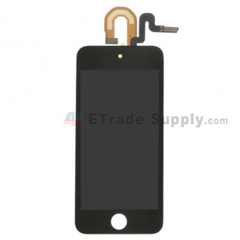 For AP APO Touch 6th Generation LCD Screen and Digitizer Assembly with Frame Replacement - Black - Grade S+ (0)