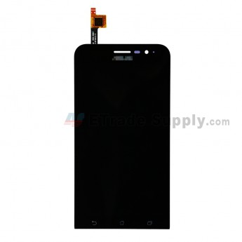 For ASUS Zenfone Go ZB500KL LCD Screen and Digitizer Assembly Replacement - Black - With Logo - Grade S+ (0)