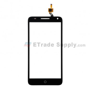For Alcatel OneTouch Pop 3 (5.5) 5025 Digitizer Touch Screen Replacement - Black - Without Logo - Grade S+ (0)