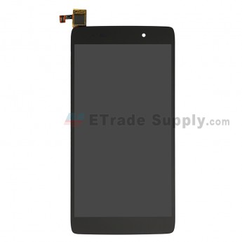 For Alcatel One Touch Idol 3 6039Y LCD Screen and Digitizer Assembly Replacement - Black - Grade S+ (0)