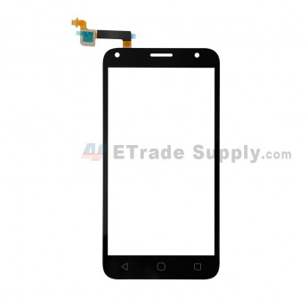 For Alcatel Pixi 4 (5) 5010 Digitizer Touch Screen Replacement - Black - Grade S+ (0)