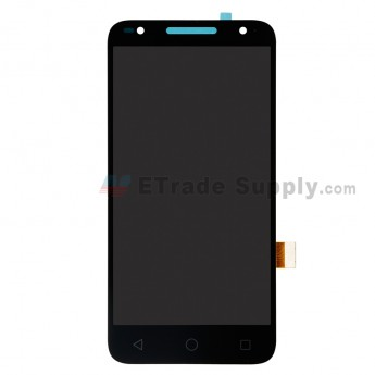 For Alcatel U5 5044D LCD Screen and Digitizer Assembly Replacement - Black - Without Any Logo - Grade S+ (0)