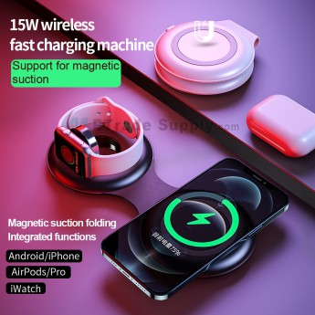 For Android/APH/AirPods/pro/iwatch wireless fast charging machine(Magnetic suction) (0)