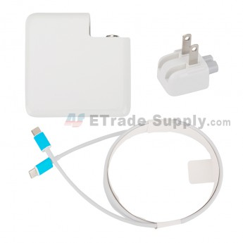 For Apple Macbook Power Adapter Type-C Interface (US Plug,61W) - Grade S+ (0)