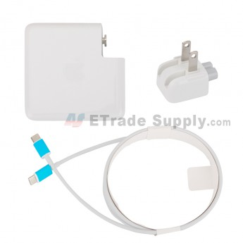 For Apple Macbook Power Adapter Type-C Interface (US Plug,87W) - Grade S+ (0)