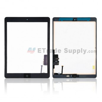 For Apple The New iPad Touch Assembly Replacement - Black - Grade S+ (0)