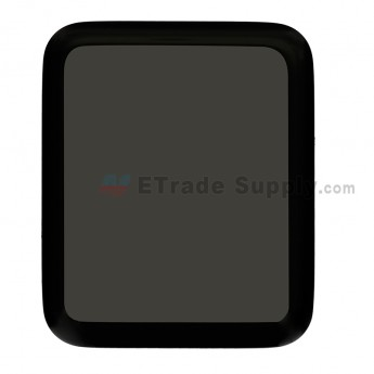For Apple Watch 2 LCD Screen and Digitizer Assembly Replacement - Black - 38mm - Grade S+ (0)