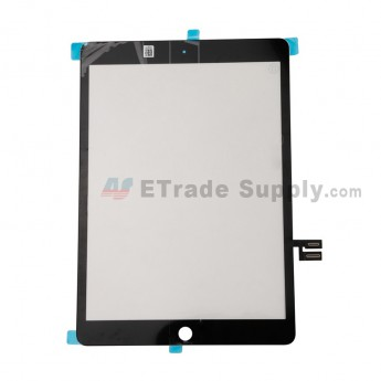 For Apple iPad 10.2 (2019) Digitizer Touch Screen Replacement - Black - Grade S+ (0)