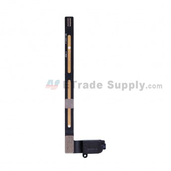 For Apple iPad Air 2 Audio Flex Cable Ribbon Replacement (Wifi+3G Version) - Black - Grade S+ (0)