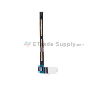 For Apple iPad Air 2 Audio Flex Cable Ribbon Replacement (Wifi+3G Version) - White - Grade S+ (0)