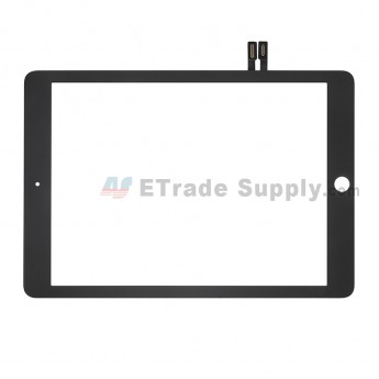 For Apple iPad Air 2 Digitizer Touch Screen Replacement (2018 Version) - Black - Grade S+ (0)