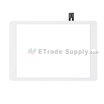 For Apple iPad Air 2 Digitizer Touch Screen Replacement (2018 Version) - White - Grade S+ (0)