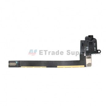 For Apple iPad Air 3 Earphone Jack Flex Cable Ribbon Replacement (Wifi Version) - Black - Grade S+ (0)