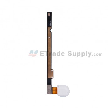 For Apple iPad Air Audio Flex Cable Ribbon Replacement (Wifi+3G Version) - White - Grade S+ (1)