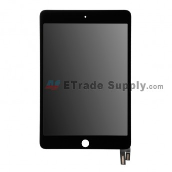 For Apple iPad Mini 4 LCD Screen and Digitizer Assembly Replacement - Black - Grade R (0)