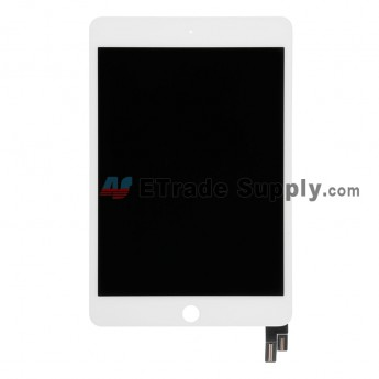 For Apple iPad Mini 4 LCD Screen and Digitizer Assembly Replacement - White - Grade R (0)