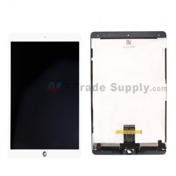 For Apple iPad Pro 10.5 LCD Screen and Digitizer Assembly Replacement - White - Grade S+ (0)