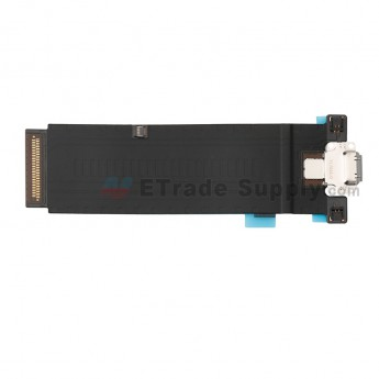 For Apple iPad Pro 12.9 (2nd Gen) Charging Port Flex Cable Ribbon Replacement (4G Version) - Gray - Grade S+ (0)