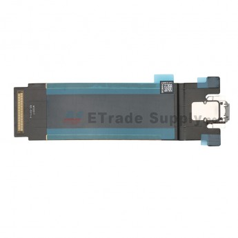 For Apple iPad Pro 12.9 (2nd Gen) Charging Port Flex Cable Ribbon Replacement (Wifi Version) - Gray - Grade S+ (0)