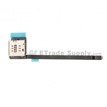 For Apple iPad Pro 12.9 SIM Card Reader Contact Flex Cable Ribbon Replacement - Grade S+ (0)