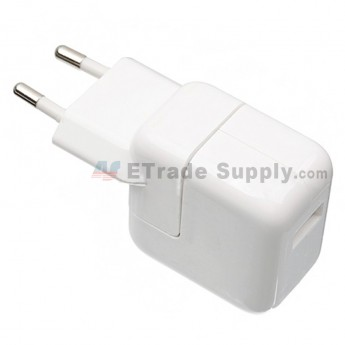 For Apple iPad Series Charger Replacement (Eur Plug, 12W) - Grade S+ (0)