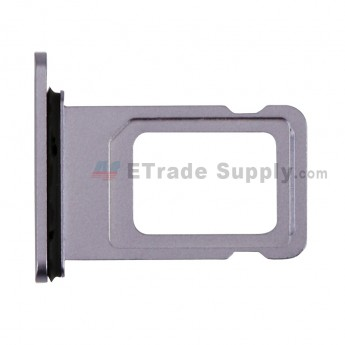 For Apple iPhone 11 SIM Card Tray Replacement - Purple - Grade S+ (0)